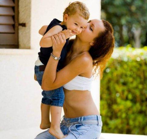 5 tips para ser una mamá delgada