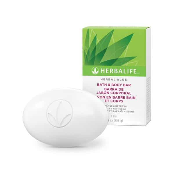 Barra de Jabón Corporal Herbal Aloe Herbalife 125 g