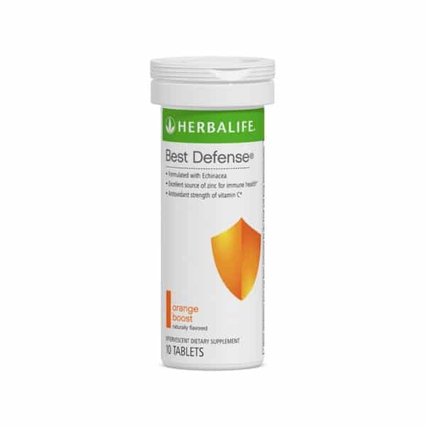 Best Defense Herbalife sabor Naranja 10 Tab