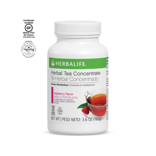 Té Herbal Concentrado Herbalife sabor Frambuesa 3.6 OZ