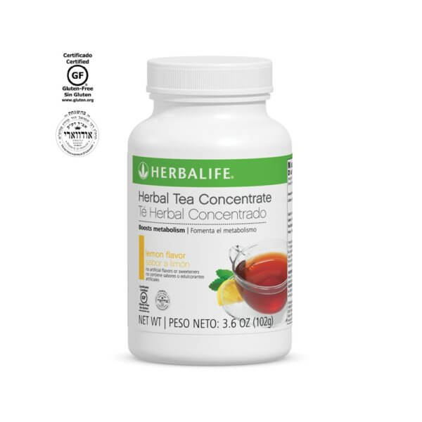 Té Herbal Concentrado Herbalife sabor Limón 3.6 OZ