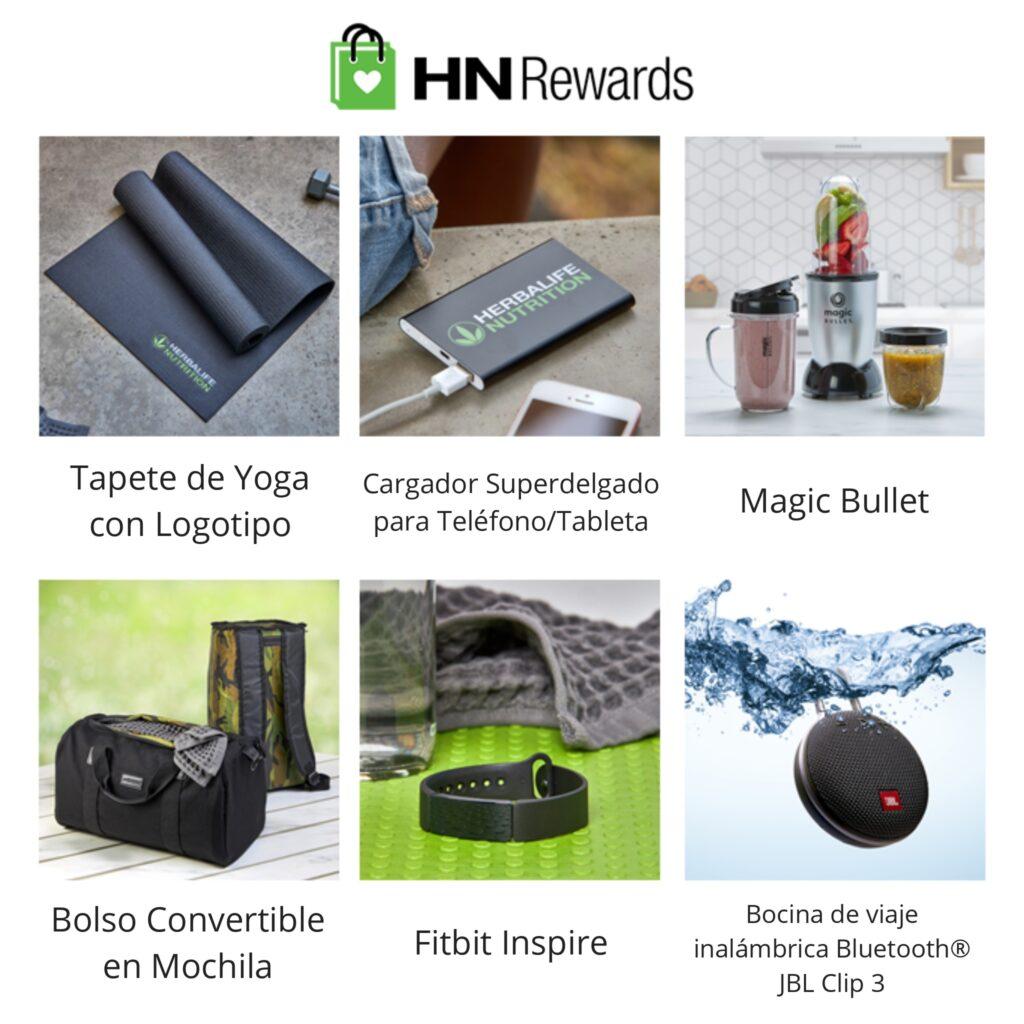 Regalos del programa HN Rewards